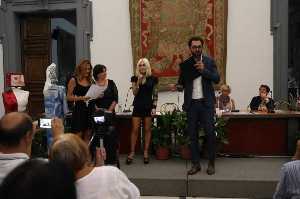 Serena Maffia Linda D Rosario Altavilla Premio Italia Donna 2018 Campidoglio