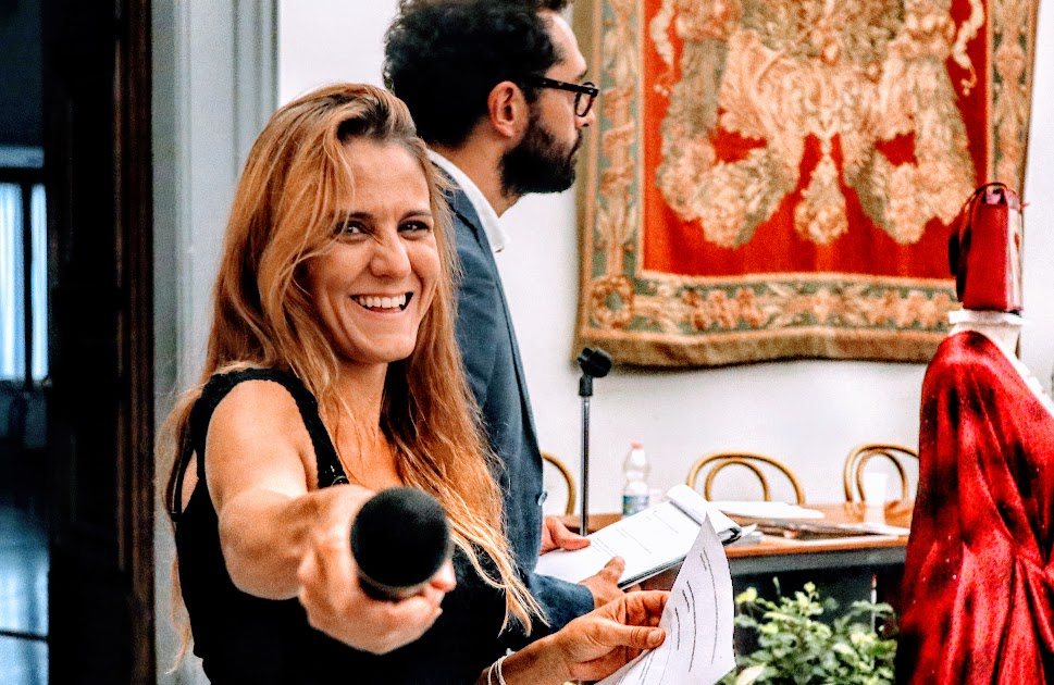 Serena Maffia Rosario Altavilla presentano il Premio Italia Donna 2018 in Campidoglio