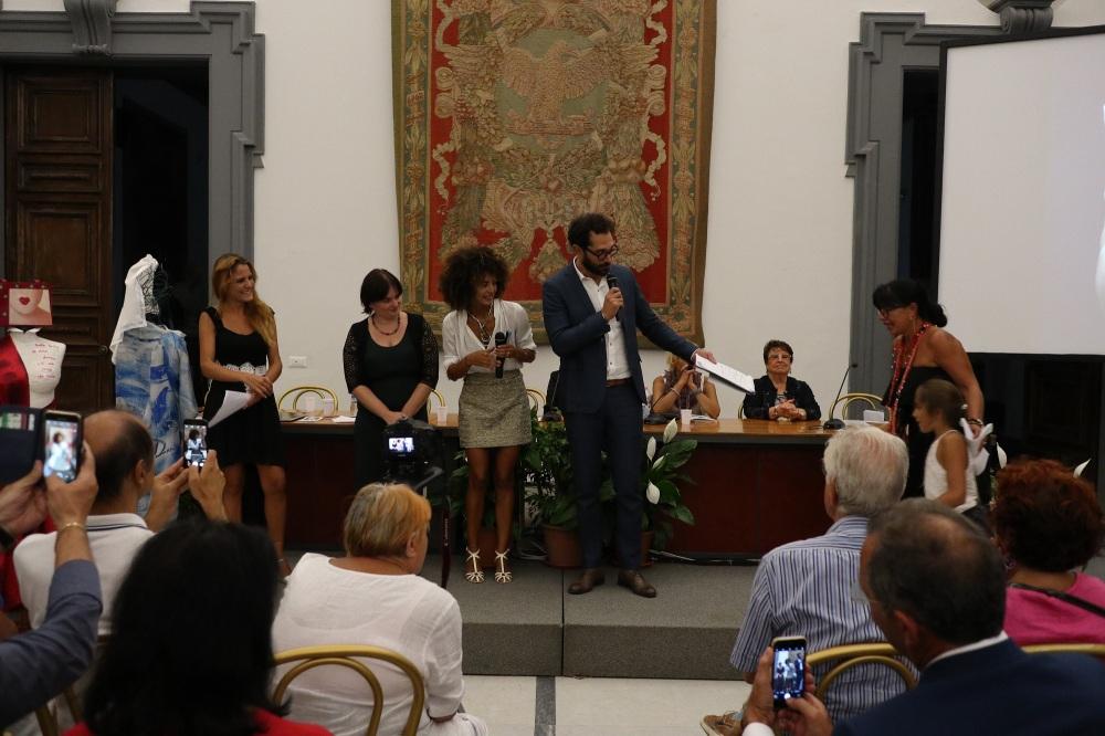 Serena Maffia Zanarella Nadia Kibout Altavilla Premio Italia Donna 2018 Campidoglio